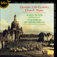 Cover of CDH55230 - German 17th-Century Church Music