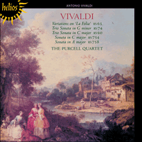 Cover of CDH55231 - Vivaldi: La Folia & other works