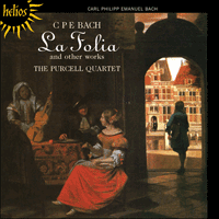 CDH55232 - Bach (CPE): La Folia & other works