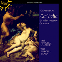 Cover of CDH55234 - Geminiani: La Folia & other works