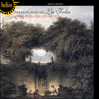 Cover of CDH55235 - Marais: La Folia & other works