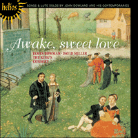 Cover of CDH55241 - Dowland: Awake, sweet love