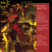 CDH55244 - Britten: The Five Canticles