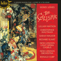 Cover of CDH55245 - Jones: The Geisha