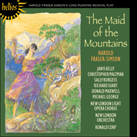 Cover of CDH55246 - Fraser-Simson: The Maid of the Mountains