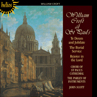 Cover of CDH55252 - Croft: Te Deum & Burial Service