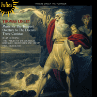Cover of CDH55256 - Linley: Cantatas & Theatre Music