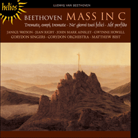 Cover of CDH55263 - Beethoven: Mass in C major