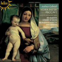 Cover of CDH55265 - Gabrieli: Missa Pater peccavi & other works