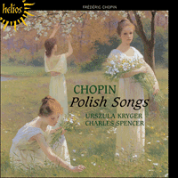 Cover of CDH55270 - Chopin: Polish Songs