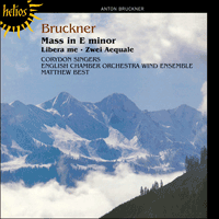 Cover of CDH55277 - Bruckner: Mass in E minor