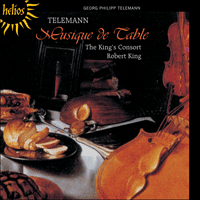 Cover of CDH55278 - Telemann: Musique de Table