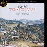 Cover of CDH55280 - Handel: Trio Sonatas for oboe, violin and continuo