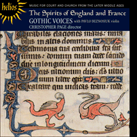 Cover of CDH55281 - The Spirits of England & France, Vol. 1