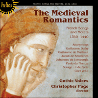 Cover of CDH55293 - The Medieval Romantics