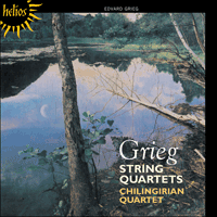 Cover of CDH55299 - Grieg: String Quartets Nos 1 & 2