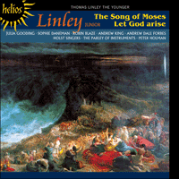 Cover of CDH55302 - Linley: The Song of Moses & Let God arise