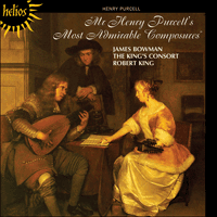 CDH55303 - Purcell: Mr Henry Purcell's Most Admirable Composures