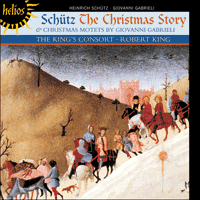 Cover of CDH55310 - Sch�tz: The Christmas Story; Gabrieli: Christmas Motets