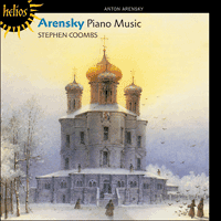 CDH55311 - Arensky: Piano Music