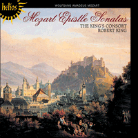 Cover of CDH55314 - Mozart: Epistle Sonatas