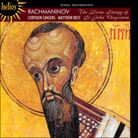 Cover of CDH55318 - Rachmaninov: The Divine Liturgy of St John Chrysostom