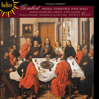 Cover of CDH55323 - Gombert: Missa Tempore paschali & other sacred music