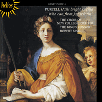 Cover of CDH55327 - Purcell: Hail! bright Cecilia & Who can from joy refrain?