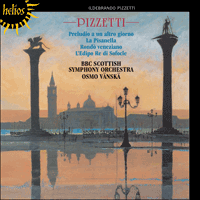 Cover of CDH55329 - Pizzetti: Orchestral Music