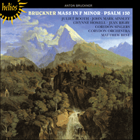 Cover of CDH55332 - Bruckner: Mass in F minor & Psalm 150