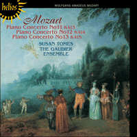 Cover of CDH55333 - Mozart: Piano Concertos Nos 11, 12 & 13