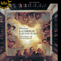 Cover of CDH55339 - Dowland: Lachrimae