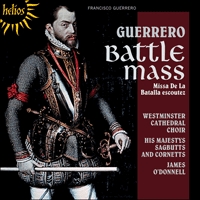 Cover of CDH55340 - Guerrero: Missa De la batalla escoutez & other works