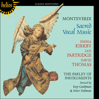 Cover of CDH55345 - Monteverdi: Sacred vocal music
