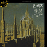Cover of CDH55346 - Brahms: Motets