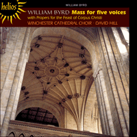 Cover of CDH55348 - Byrd: Mass for five voices
