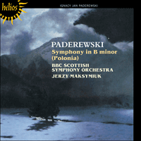 Cover of CDH55351 - Paderewski: Symphony in B minor 'Polonia'