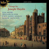 Cover of CDH55355 - Haydn: Songs