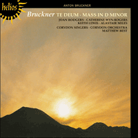Cover of CDH55356 - Bruckner: Mass in D minor & Te Deum