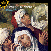 CDH55357 - Pe�alosa: The Complete Motets