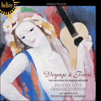 Cover of CDH55366 - Poulenc: Voyage � Paris
