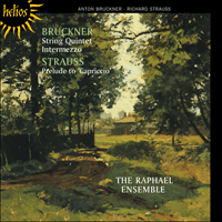 Cover of CDH55372 - Bruckner: String Quintet & Intermezzo; Strauss: Capriccio