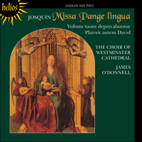 CDH55374 - Josquin: Missa Pange lingua & other works