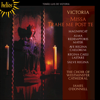 Cover of CDH55376 - Victoria: Missa Trahe me post te & other sacred music