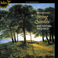 Cover of CDH55377 - Mendelssohn: String Quintets