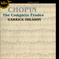 Cover of CDH55380 - Chopin: The Complete �tudes