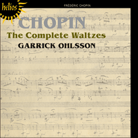 Cover of CDH55381 - Chopin: The Complete Waltzes