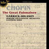 Cover of CDH55382 - Chopin: The Great Polonaises