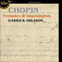 Cover of CDH55383 - Chopin: Preludes & Impromptus