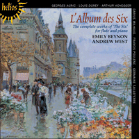 Cover of CDH55386 - L'Album des Six